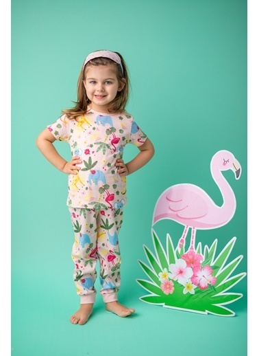 Zeyland Pembe Flamingo Pijama Takımı (1-4yaş) Pembe Flamingo Pijama Takımı (1-4yaş) Pembe